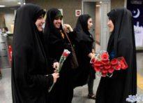 هزاران نفر از دختران انقلاب اصفهان گل کاشتند….