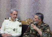 فرمانده کل ارتش: ارتباط ما با فرمانده ناجا برادرانه و صمیمانه است