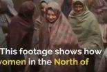 فیلم/ حجاب ۱۰۰سال پیش زنان انگلیسی