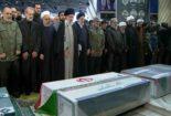 امام خامنهای تاکنون بر سر پیکر کدامیک از سرداران شهید حاضر شدند+ عکس