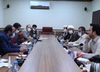 جلسه قرارگاه مهروامیدمساجدوستادپیشگیری ازوقوع جرم قوه قضاییه:بهترین تشکل مردم نهادمساجدمی باشند.