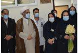 تجلیل از مدافعان سلامت به مناسبت روز پرستار