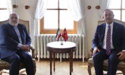 گفت و گوی تلفنی ظریف و همتای ترکیه ای درباره تحولات سرزمین های اشغالی