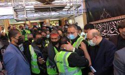 اعزام ۳۰۰ نفر از کارکنان شهرداری تهران به کربلا و نجف